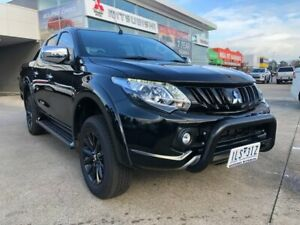 2017 Mitsubishi Triton MQ MY17 GLS Double Cab Sports Edition Black 6 Speed Manual Utility Hoppers Crossing Wyndham Area Preview