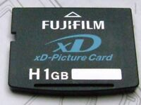 FujiFilm 1GB XD Picture Card Type H