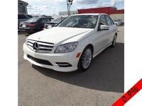 MERCEDES C250 2011 4MATIC (AWD) 82.900KM CUIR TOIT OUVRANT A/C