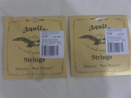New sets Aquila (Italy) Tenor Ukulele strings $10 each