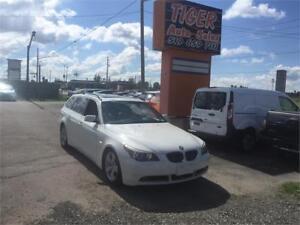2007 BMW 5 Series 530xi**NAVI**LEATHER**TOURING**WAGON**170 KMS