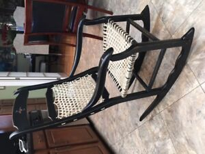 NICE DIFFERENT-UNIQUE ROCKING CHAIR  (SOLD)