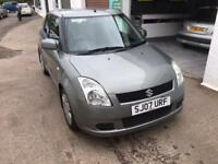 2007 SUZUKI SWIFT GL 5 DOOR PETROL 1.3