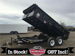 "14K - 83"" x 14' HD Tandem Axle Extra Wide Dump by Big Tex"