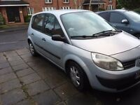 renault scenic 1.4 grey car for sale 54 plate