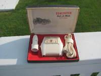 1950's Classic Car Auto Shaver, Flags, Plates, Tiger 3rd Brake