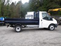 2012 Ford Transit 350 TIPPER/68000 MILES