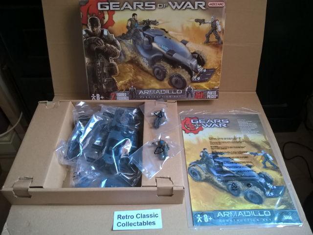Meccano Gears of War Armadillo Construction Set - 80 pieces - 2 figures - 5450