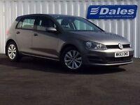 Volkswagen Golf SE Bluemotion Tech 5DR Hatchback (grey) 2013