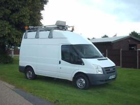 Ford Transit 115 t350 mwb high roof with built in power output