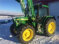 John Deere 6310 Loader Tractor
