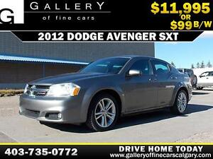 2012 Dodge Avenger SXT $99 BI-WEEKLY APPLY NOW DRIVE N
