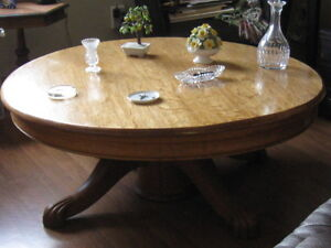 Round Antique Coffee Table