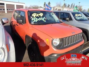 2015 Jeep Renegade Sport 4x4 SAVE OVER $6500 ! REDUCED