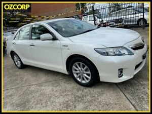 2010 Toyota Camry AHV40R Luxury Hybrid White Continuous Variable Sedan Homebush Strathfield Area Preview