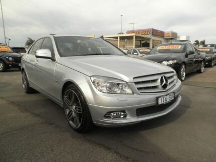 2008 Mercedes-Benz C280 W204 Avantgarde Silver Lightning 7 Speed Sports Automatic Sedan Heatherton Kingston Area Preview