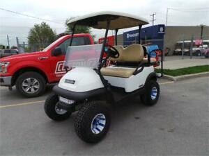2014 Club Car Precedent Lifted Electric Golf Cart