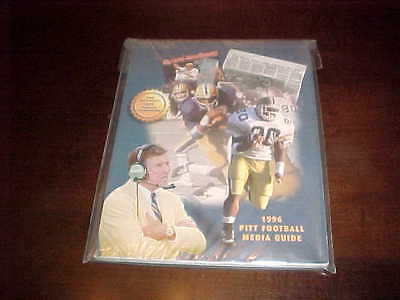 1996 Pitt Panthers Football Media Guide