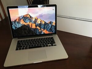 "MacBook Pro Retina 15"" i7 16Gb Ram 512Gb SSD Nvidia - WARRANTY"