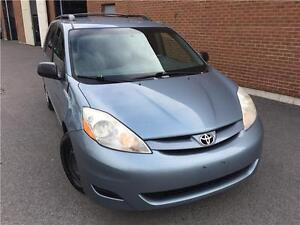 Toyota Sienna CE 2007,AUTO,6 CYL,AC,CRUISE CONTROL,7 PASSAGERS!