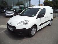 Peugeot Partner L1 850S 1.6HDi 92PS Van Euro 5 DIESEL MANUAL WHITE (2014)