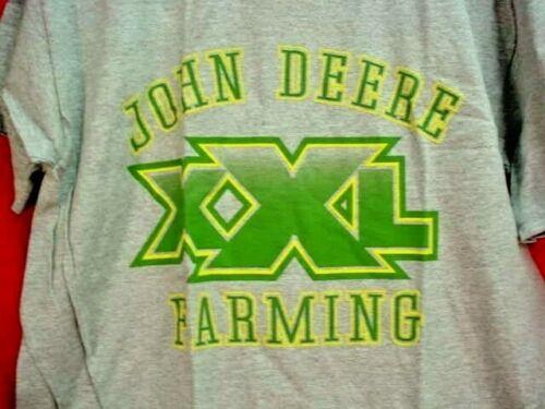 JOHN DEERE T-SHIRT - JOHN DEERE XXL FARMING - SIZE XXL - NEW