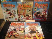 Beano Annuals 2012 to 2016