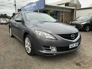 2008 Mazda 6 GG MY07 Classic Sports Grey 5 Speed Auto Activematic Hatchback South Geelong Geelong City Preview