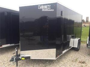 Brand New 2018 Look 7x14 Utility Trailer with HD Axle