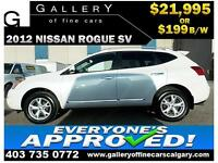 2011 Nissan Rogue SV AWD $199 bi-weekly APPLY NOW DRIVE NOW