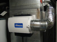 FURNACE HUMIDIFIER, UNIT AND INSTALL FROM 359.00 {Reg 399}