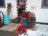 Christmas  at the Antique Shop in December -- All Week Long