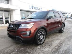 2016 Ford Explorer SPORT/TOIT PANO/CUIR/GPS