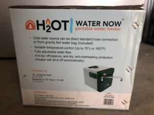 Trailwood H2OT Water Now Portable Water Heater