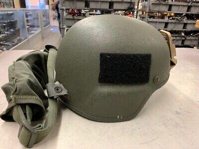 U.S Military Advanced Combat Helmet W/ SureFire Light