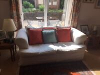 Double Sofabed and 3-seater Reclining Leather Sofa for sale £75 each