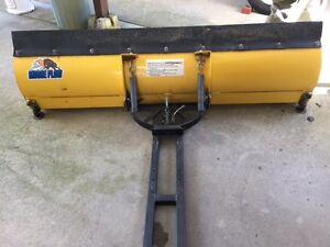 Moose 60 in snow blade for ATV or Side by side, good condition
