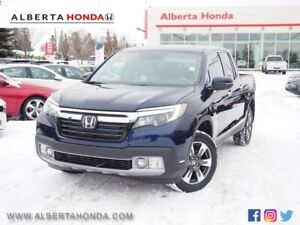 2019 Honda Ridgeline Touring w/Navi. AWD. Eco. Back-up Camera. T
