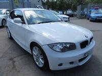 2010 60 BMW 1 SERIES 2.0 118D M SPORT 3D 141 BHP DIESEL