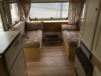 ***SOLD***5 Berth Touring Caravan - Full Quality Awning, Battery Mains Lead, Water Drums, Step. VGC.