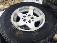 235/70/R15 winter tires call or text me @403 903 3044