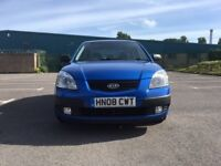 Kia RIO 1.5 CRDi 2 5dr£1,495 p/x welcome 2008 (08 reg), Hatchback 93,000 miles Manual 1493cc