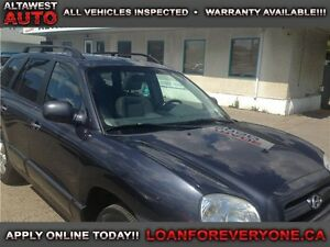 2006 Hyundai Santa Fe GLS LEATHER & SUNROOF