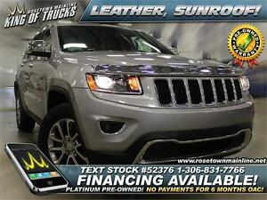 2014 Jeep Grand Cherokee Limited 4x4 | Leather | Sunroof