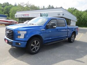 2016 Ford F150 Super Crew 4x4 FX4 4x4 SuperCrew 157 in