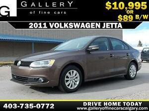 2011 Volkswagen Jetta  $89 bi-weekly APPLY NOW DRIVE NOW