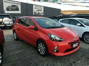 2012 Toyota Prius c NHP10R I-Tech Red Constant Variable Hatchback Dandenong Greater Dandenong Preview