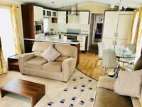6 Berth luxury Holiday Home At Sandylands near Craig Tara with full wrap round deck and fees inc