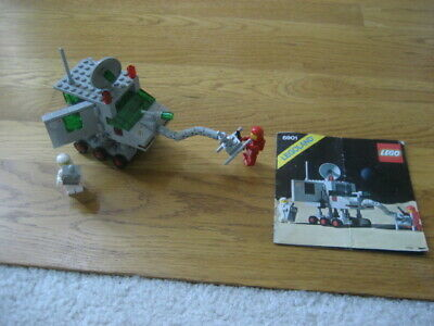 1980 Vintage LEGO Classic Space Set #6901 Mobile Lab - COMPLETE w/ Instructions