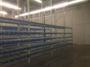 4 Year Old Heavy Duty Pallet Racking, Warehouse